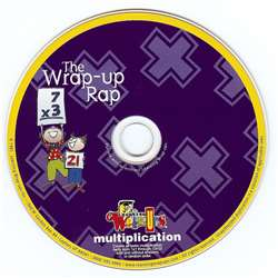 Multiplication Wrap Up Rap Audio Cd By Learning Wrap-Ups