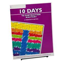 10 Days To Subtract Mastery Student Workbook, LWU752