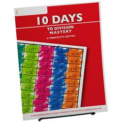 10 Days To Division Mastery Student Workbook, LWU754