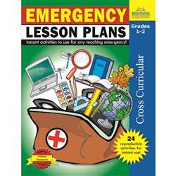 Emergency Lesson Plans Gr 1-2 By Milliken Lorenz Educational Press