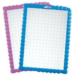 Gridded Dry Erase Board 30/Pk Transparent Kidy Boa, MAP583711