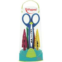 Craft Scissors Case 5 Assorted Patterns By Maped Usa