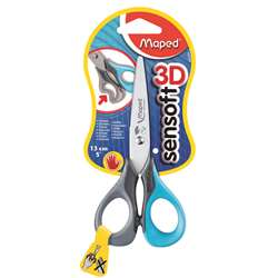 5In Sensoft Scissors Left Handed By Maped Usa