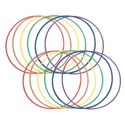 Plastic Hoop 24 12-Pk By Dick Martin Sports