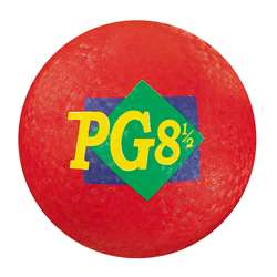 "Playground Ball 8-1/2"" Red By Dick Martin Sports"
