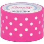 Mavalus Snazzy Purple W/ White Polka Dot Tape 1.5 X 39 By Dss Distributing