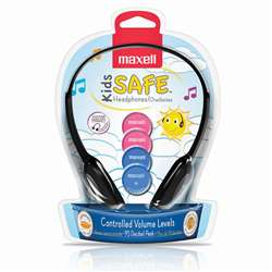 Maxell Kids Safe Headphones, MAX190338