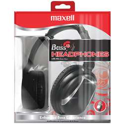 Maxell Bass13 Headphones With Mic, MAX199840