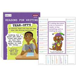 Reasons For Writing Tear Offs By Mcdonald Publishing
