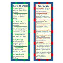Parts Of Speech & Punctuation Smart By Mcdonald Publishing