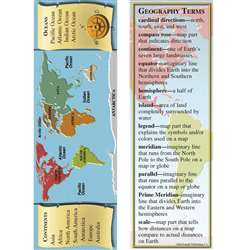 Geography Smart Bookmarks By Mcdonald Publishing