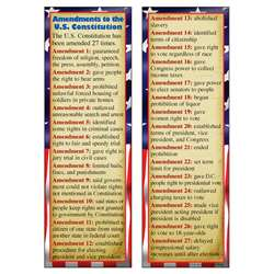Constitutional Amendments Smart Bookmarks By Mcdonald Publishing