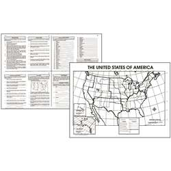 Activity Posters The Us 30/Set Gr 4-8 By Mcdonald Publishing