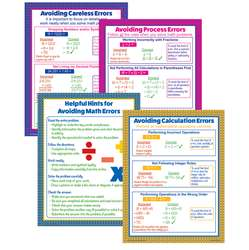 Avoiding Math Errors Poster Set, MC-P085