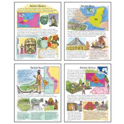 Ancient American Cultures Teaching Poster Set By Mcdonald Publishing