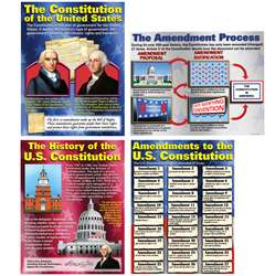 The Constitution Teaching Poster Set, MC-P119
