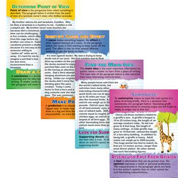 Reading Comprehension Poster Set By Mcdonald Publishing