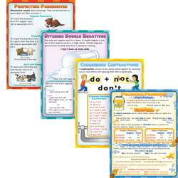 Grammar Dos & Donts Poster Set By Mcdonald Publishing