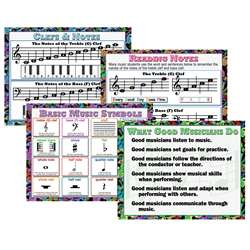 Music Teaching Poster Set, MC-P960