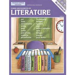 Forms & Elements Of Literature Gr 6-9 By Mcdonald Publishing
