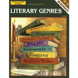 Literary Genres Gr 6-9 By Mcdonald Publishing
