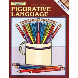 Figurative Language Reproducible Book By Mcdonald Publishing