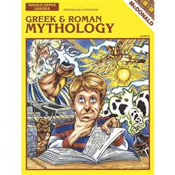 Greek & Roman Mythology Grade 6-9 By Mcdonald Publishing