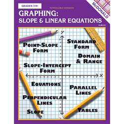 Graphing Slope & Linear Equations Repro Book Gr 7-9 By Mcdonald Publishing