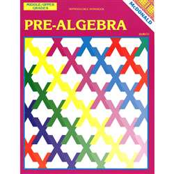 Pre-Algebra Gr 6-9 By Mcdonald Publishing