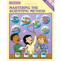 Mastering The Scientific Method Reproducible Book Gr 4-8 By Mcdonald Publishing