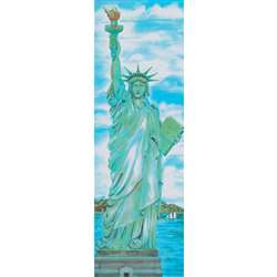 Colossal Poster Statue Of Liberty Gr 4-9& Up Over 5-1/2 Tall By Mcdonald Publishing