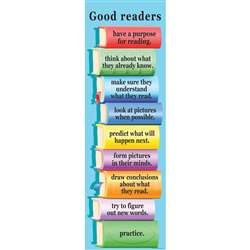 Colossal Poster What Good Readers By Mcdonald Publishing