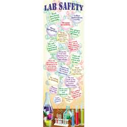 Science Lab Safety Colossal Poster, MC-V1686