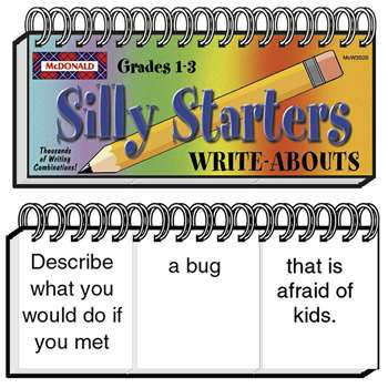 Write-Abouts Silly Starters Gr 1-3 S 1-3 By Mcdonald Publishing