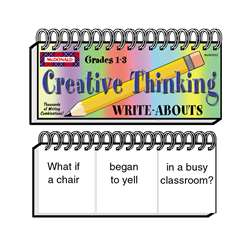 Write-Abouts Creative Thinking Gr 1-3 By Mcdonald Publishing