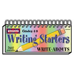 Write Abouts Writing Starters By Mcdonald Publishing
