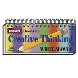 Creative Thinking Write Abouts By Mcdonald Publishing