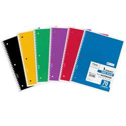 Notebook Spiral Single Subject 70Ct 10 1/2 X 8 By Mead Products