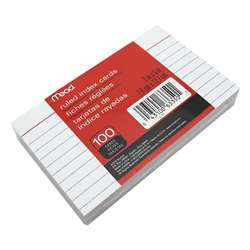 "Cards Index Ruled 3"" X 5"" 100 Ct By Mead Products"