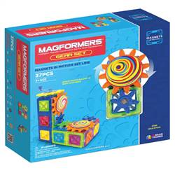 "Magnets "" Motion 37Pc Gear Set, MGF63203"