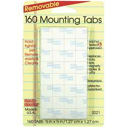 Wall Mounting Tabs 160 Tabs 1/2 By Miller Studio