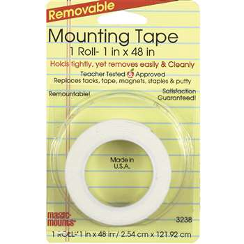 Remarkably Removable Magic Mounting Tape Tabs And Chart Mounts 1X48 By Miller Studio