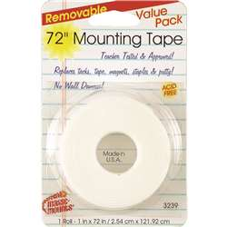 Remarkably Removable Magic Mounting Tape Tabs And Chart Mounts 1X72 By Miller Studio