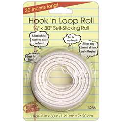 "Hook N Loop 3/4Inx30"" Roll, MIL3256W"