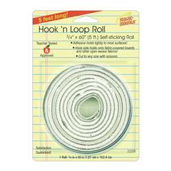 "Hook N Loop 3/4Inx60"" Roll, MIL3258W"