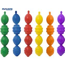 Interlocking Pieces Assorted 24 Pcs Per Unit By Miniland Educational