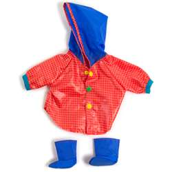 Doll Clothes Rain Coat & Boots, MLE31556