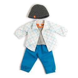 Doll Clothes Boy Fall/Spring Outfit, MLE31559