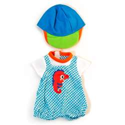 Doll Clothes Warm Weather Jumper/ Cap Set, MLE31641