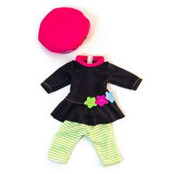 Doll Clothes Mild Weather Romper/ Hat Set, MLE31646